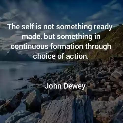 john Dewey quotes education is life itself quote