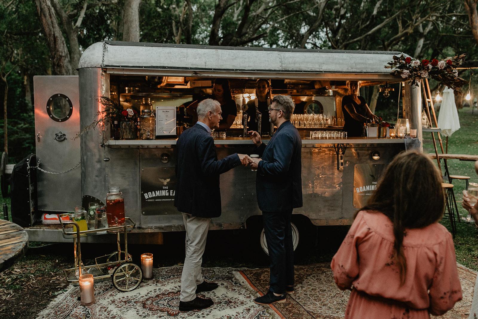 vladan gajic photography rustic vintage mobile wedding caravan bar hire newcastle