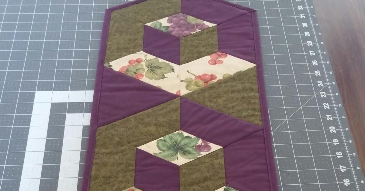 Pj S Crafty Creations 3d Hexagon Table Runner Supply List