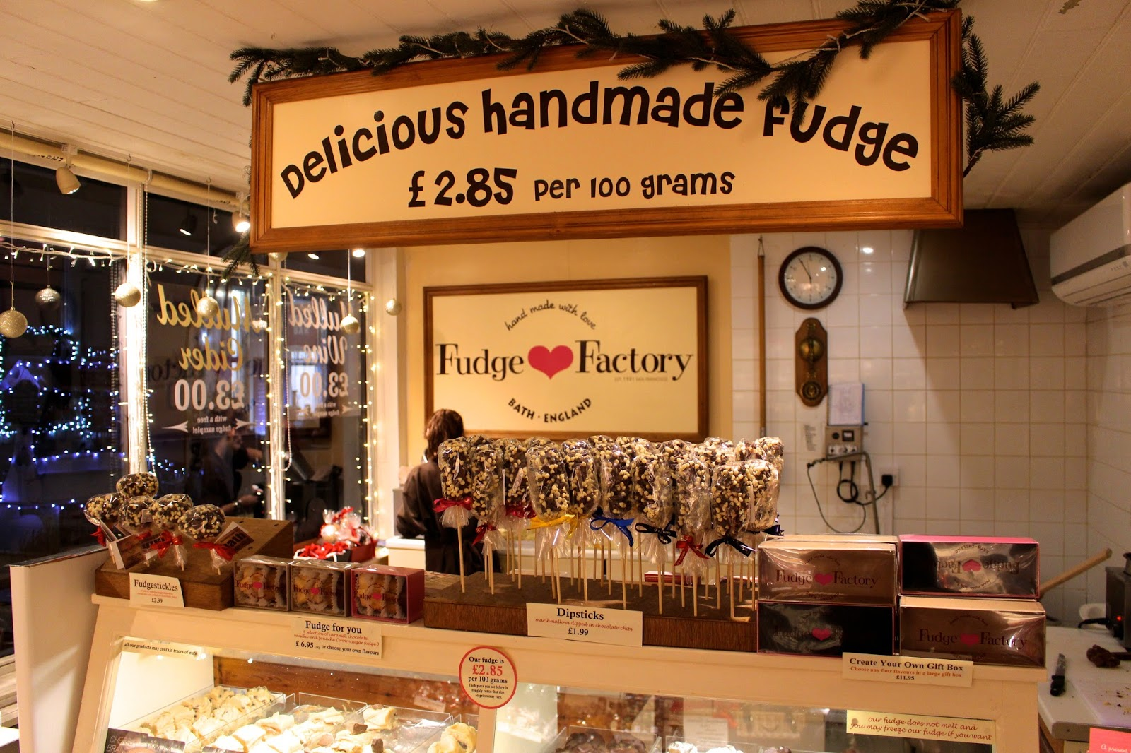 The Fudge Factory Bath