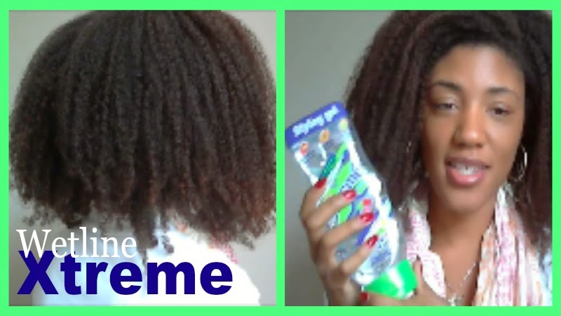 Xtreme Professional Wet Line Styling Gel Review - natural hair