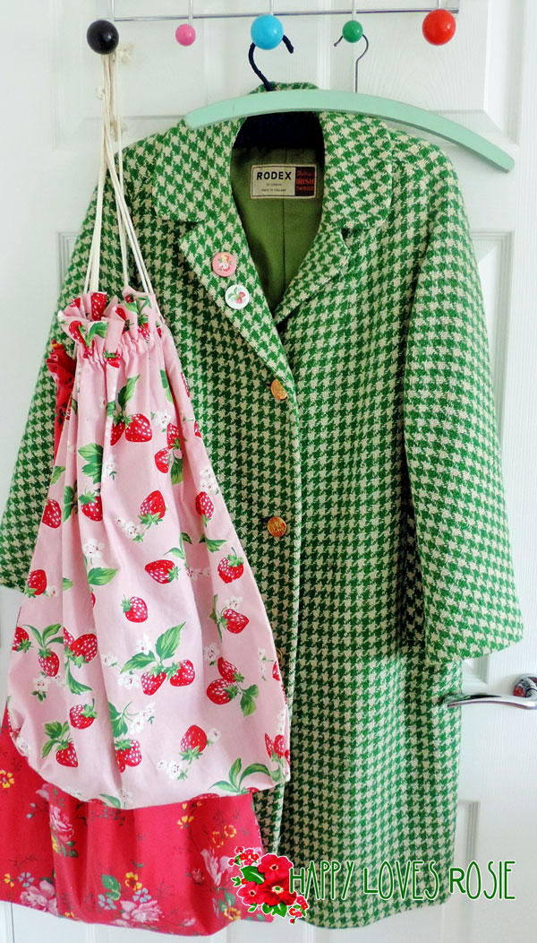 vintage coat an cath kidston laundry