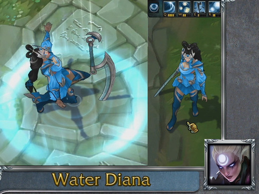 Mod Skin Water Diana