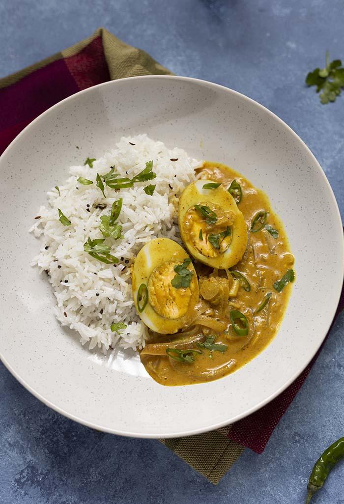 curry z jajkiem przepis