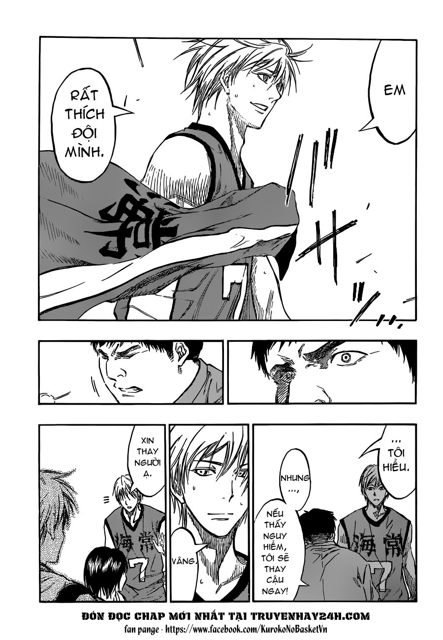 Kuroko No Basket chap 195 trang 15