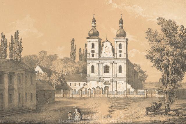 Dąbrowica, w obwodzie rówieńskim ,kościół św. Jana Chrzciciela Napoleon Orda
