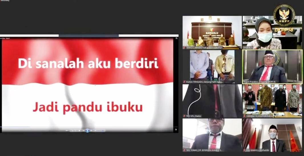 Masy Koko Minta DKPP Berhentikan Anggota KPU dan Bawaslu Kebumen dari Jabatannya