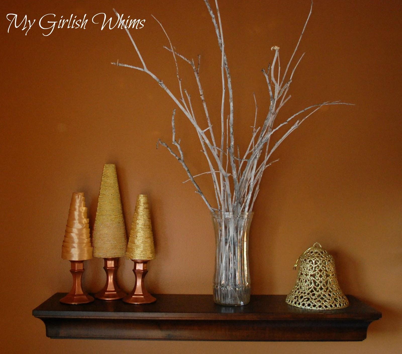 Terrible Christmas Decorations: My Christmas Shelves