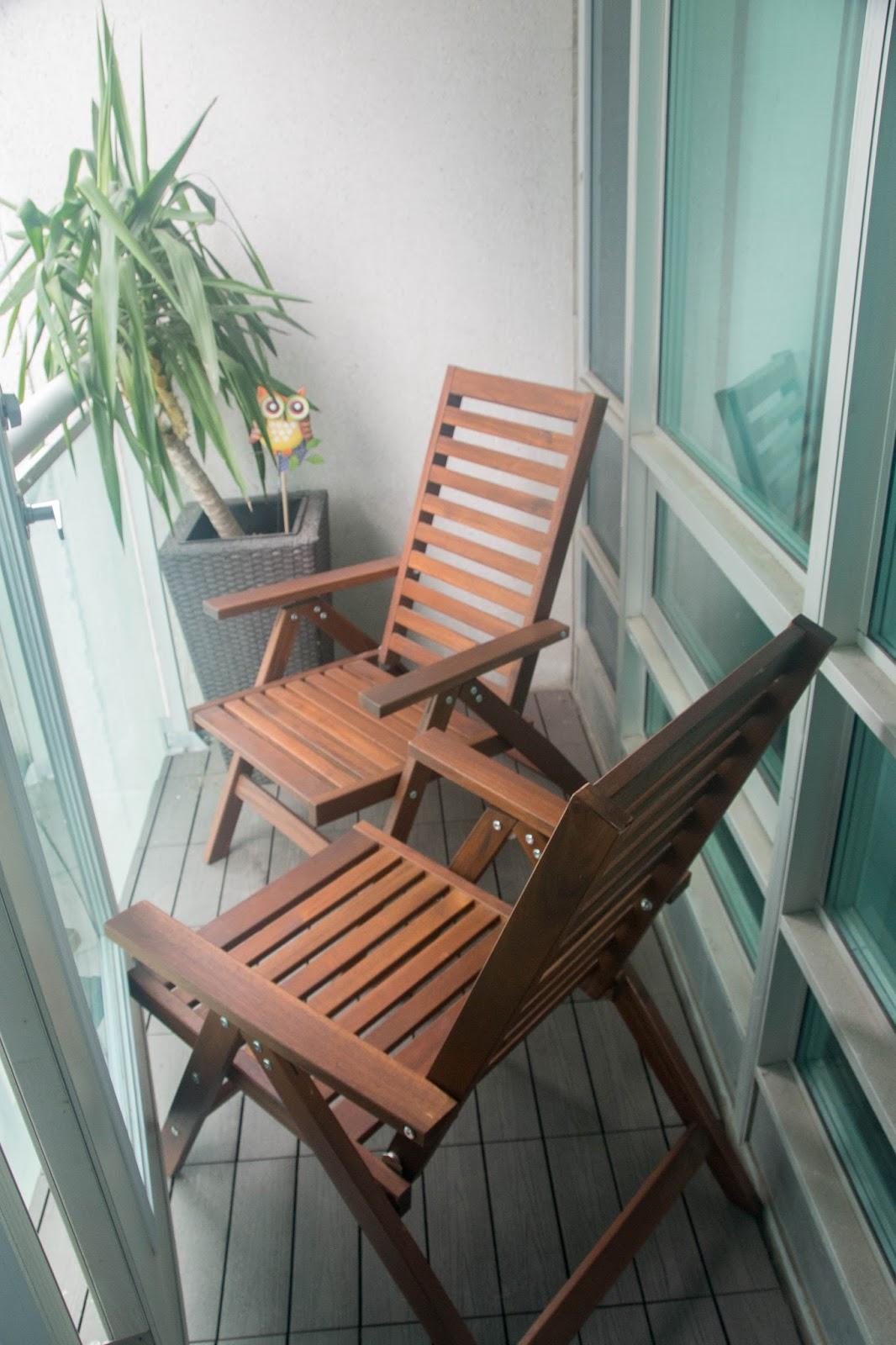 Waffling New Balcony Chairs