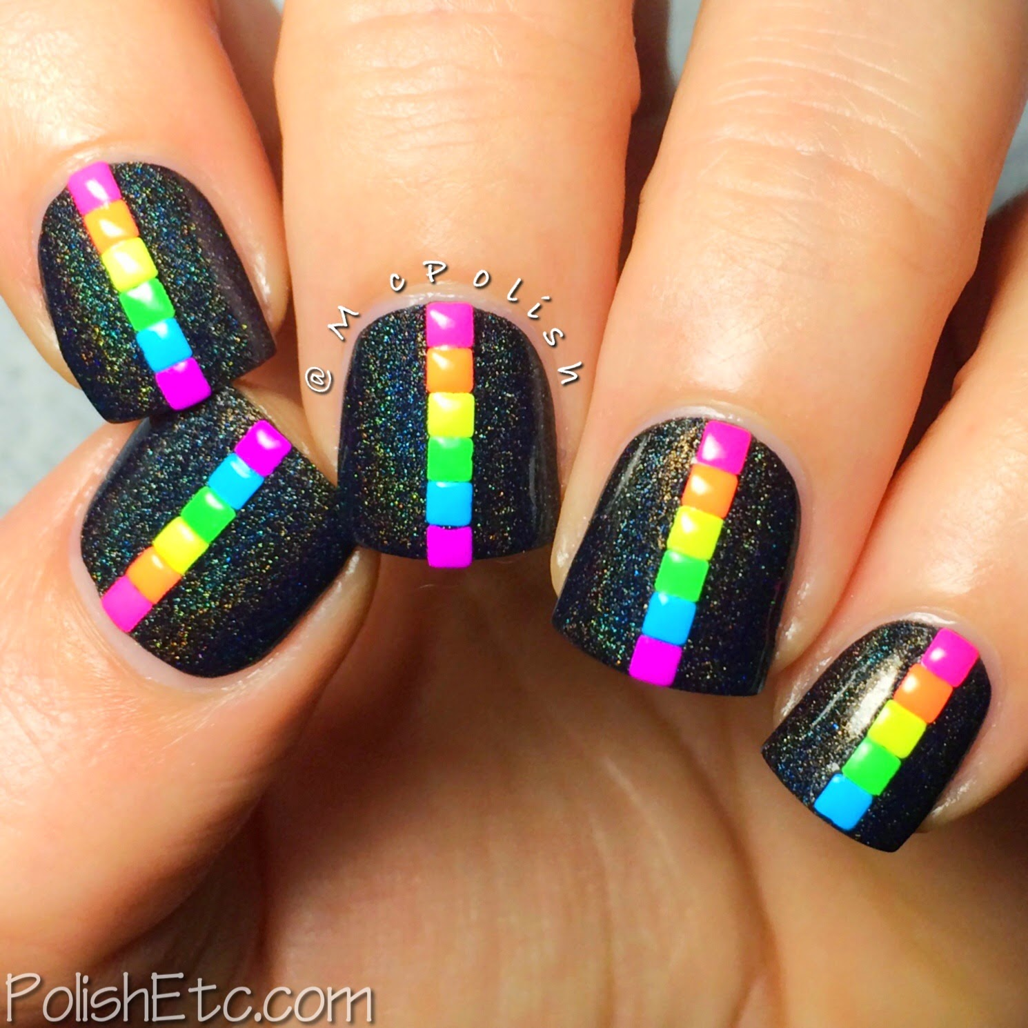 31 Day Nail Art Challenge - #31dc2014 - McPolish - RAINBOW