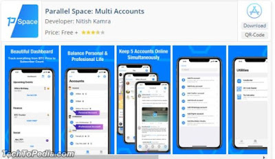 Parallel Space Multiple Account App by Nitish Kamra