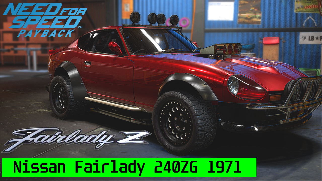 Need For Speed Payback Derelict Car Part Locations Nissan Fairlady