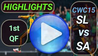 SL vs SA 1st QF Match