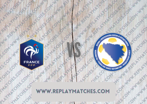 France vs Bosnia-Herzegovina -Highlights 01 September 2021