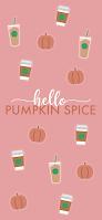 Pumpkin Spice Fall Autumn iPhone Phone wallpaper