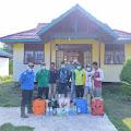 Cegah Penyebaran Covid-19, Desa Beringin Mulya Semprot Cairan Disinfektan di Rumah dan Fasilas Umum