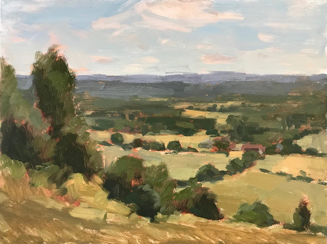 #347 'Box Hill Surrey' 12×16″