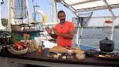 طريقة عمل طاجن سمك ثعبان بالصوص الأحمر و مكرونة بنا بالجمبرى