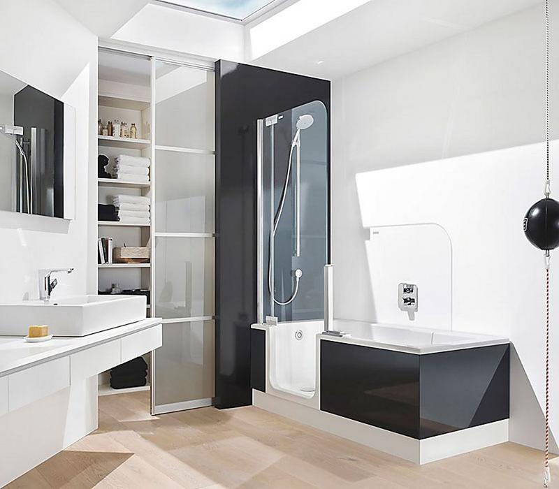 Small world of design inspiracje wanna czy prysznic for Banos modernos para apartamentos