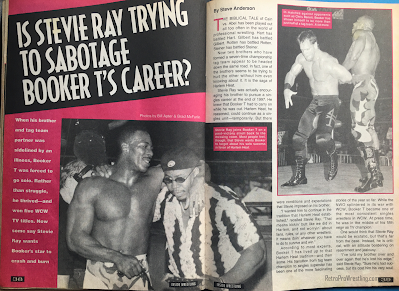 Inside Wrestling  - November 1998 - Steve Austin vs. Bill Goldberg - Is Stevie Ray Trying to Sabotage Booker T's Career? (1)