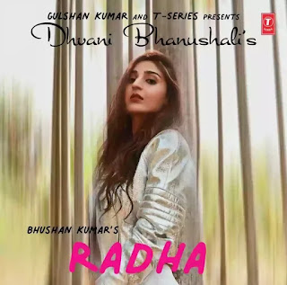 RADHA Lyrics in English - Dhvani Bhanushali