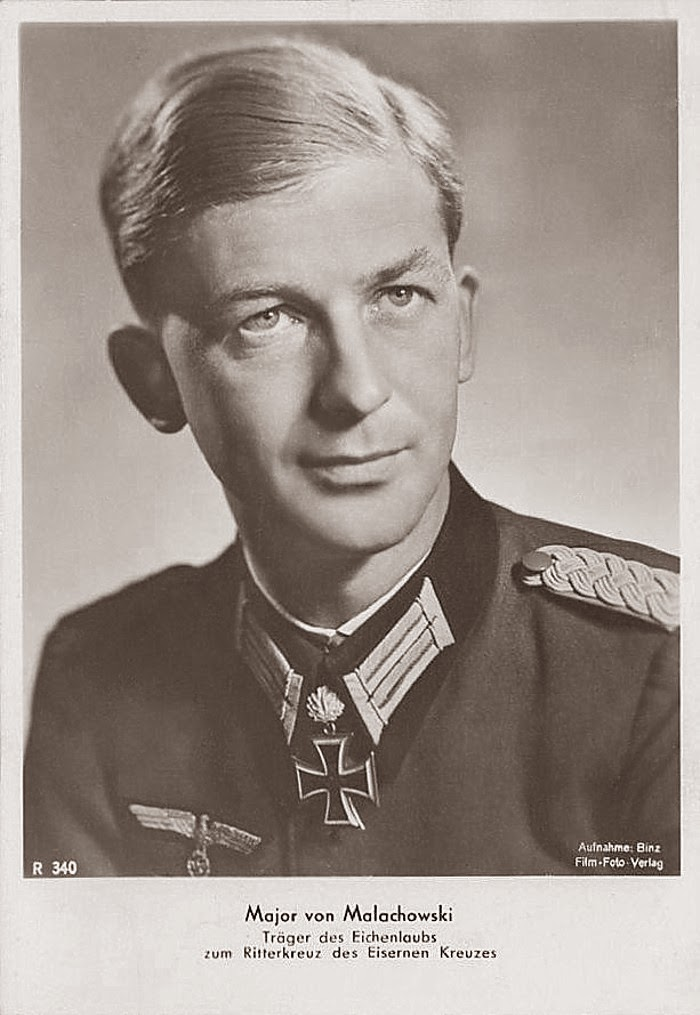 Wilhelm von Malachowski Ritterkreuzträger Knight Cross Holder Postcard