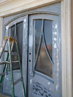 Everything i create paint garage doors to look like wood for Steel garage doors that look like wood