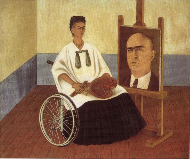 Фрида Кало - Автопортрет с портретом доктора Фарилла. 1951