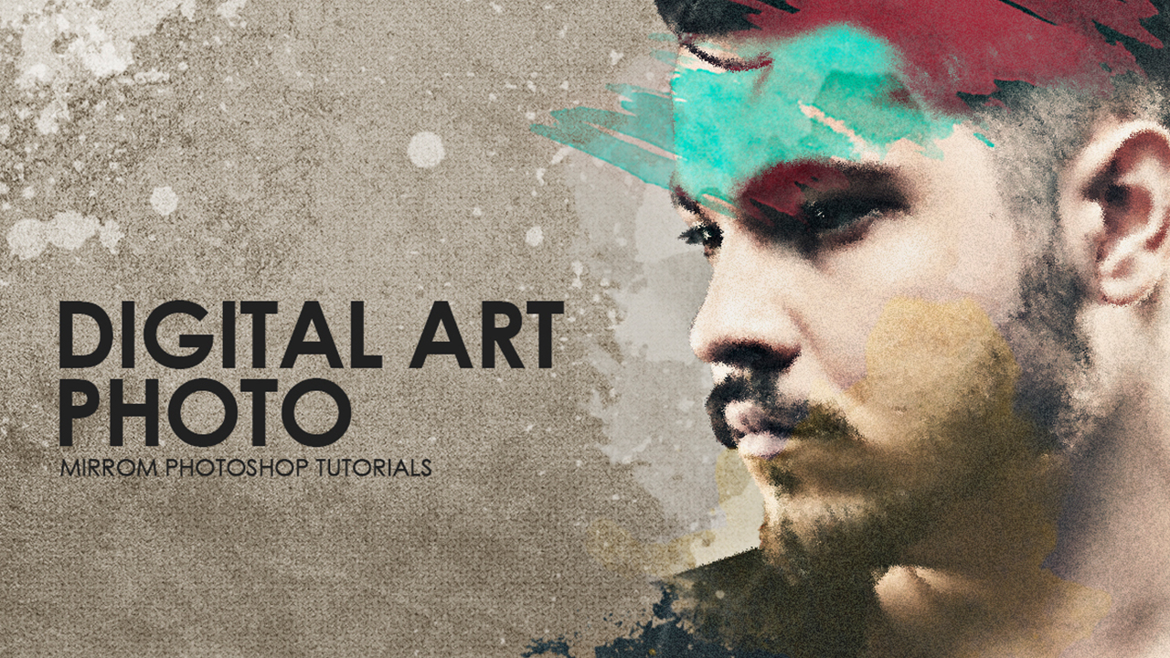 Making Simple Art Photo Effects In Photoshop