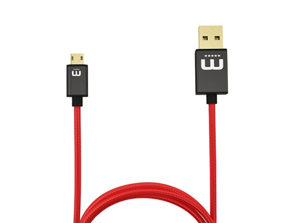 Charge away your smartphone battery with this fully-reversible micro-USB cable