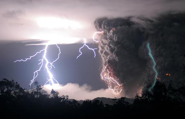 Chaiten Volcano Eruption