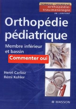 Orthopédie pédiatrique membre inférieur et bassin pdf