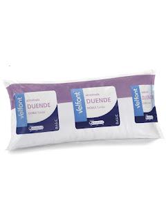 Almohada de fibra DUENDE de Velfont. Especial para niños