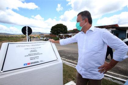 Agenda do Governador Rui Costa entrega recuperação de trecho de 24 quilômetros da BA-634 em Itambé