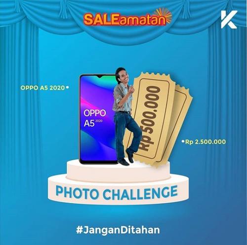 Kontes Foto Jangan Ditahan Berhadiah OPPO A5 2020 & Uang 2.5 Juta