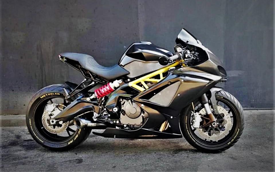Benelli BN 600 Cafesport - RocketGarage - Cafe Racer Magazine