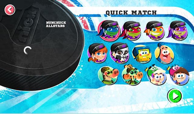Nick Hockey Stars games