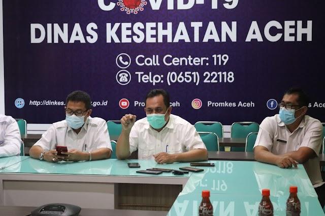 Penyuntikan Vaksin Covid di Aceh Mulai 15 Januari