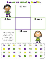 FREE Add and Subtract 1s and 10s