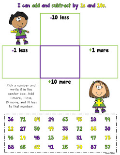 Add and Subtract 1s and 10s