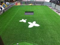 人工草皮複層地墊施工