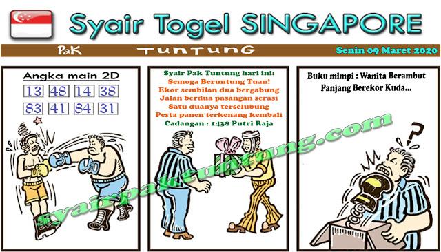 Prediksi Togel Singapura Senin 09 Maret 2020 - Prediksi Pak Tuntung