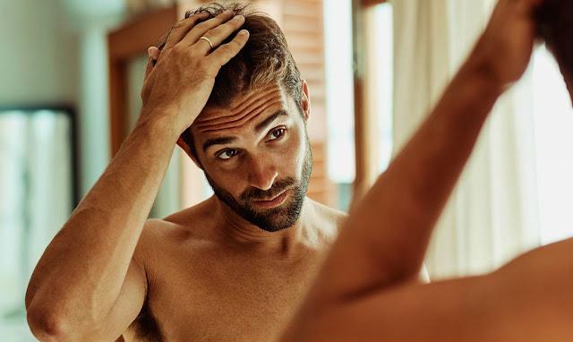Cabelo masculino banho - Foto: reprodução internet