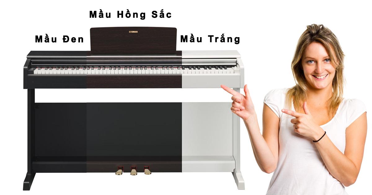 Review đàn Piano Yamaha YDP-144: Bàn phím đàn