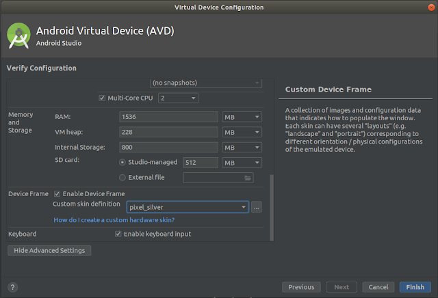 AVD Configuration - CPU