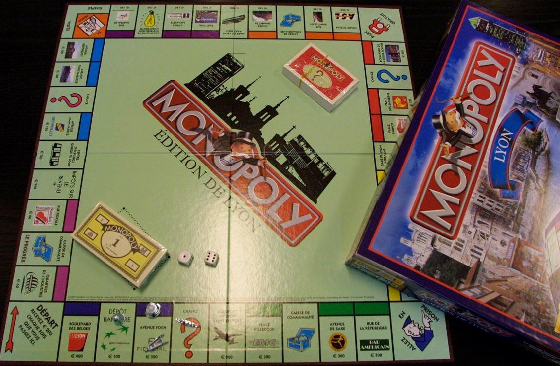 Monopoly édition de Lyon
