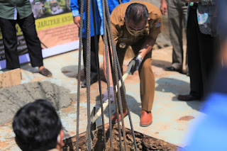 Peletakan Batu Pertama Masjid El-Juhud Quranic Center