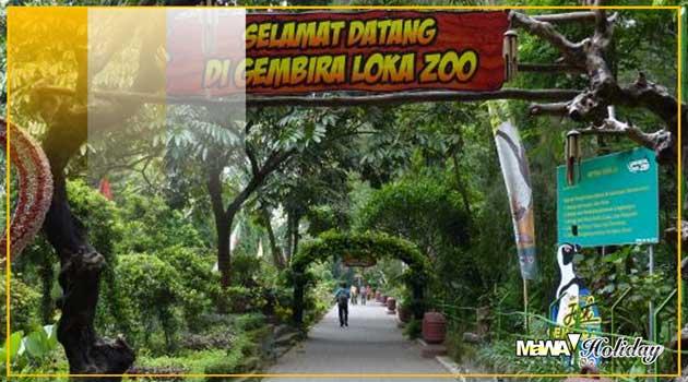 Wisata kebun binatang gembira loka yogyakarta