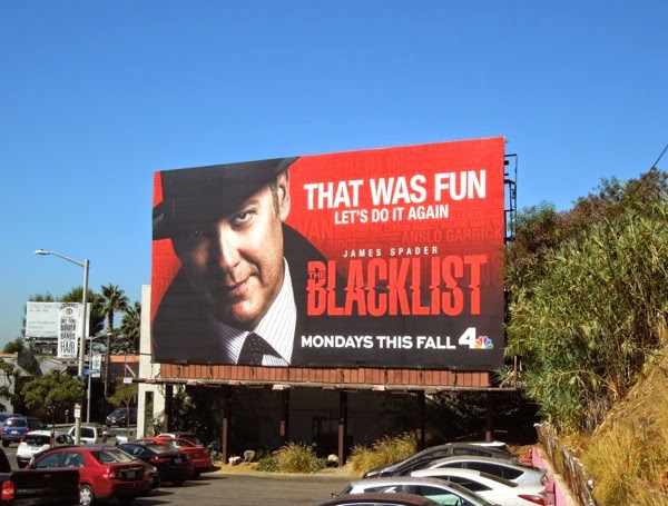Blacklist That was fun season 2 teaser billboard
