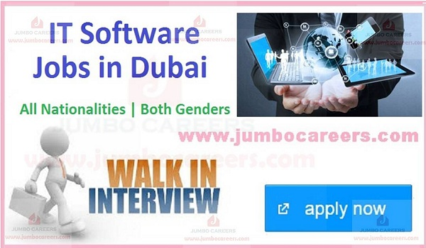 IT job openings in Gulf countries, Available jobs and careers in Dubai,